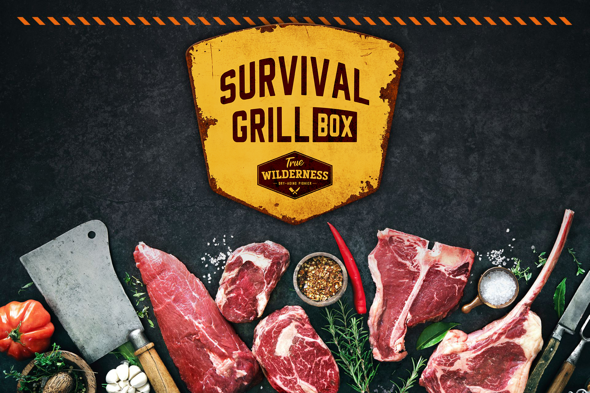 Corona Survival Grill Box